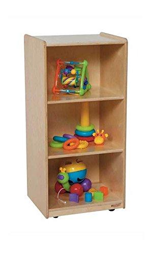 Wood Designs WD15700 Three-Shelf Unit, 36 x 18 x 15 (H x W x D)