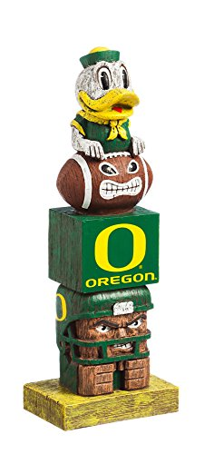 Round Oregon Ducks - NCAA Oregon Ducks Tiki Totem