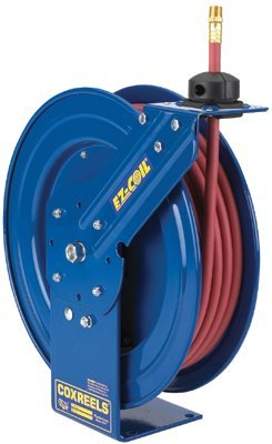 Coxreels EZ-Coil Performance Safety Reels, 3/8 in x 50 ft (Reel Coxreel Performance)
