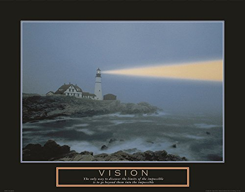 Vision-Lighthouse Art Print, 38 x 30 inches
