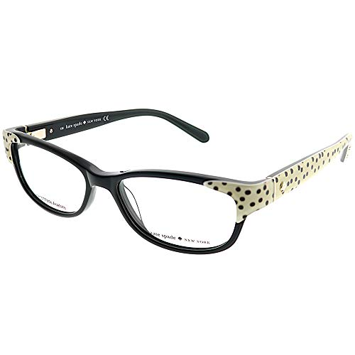 Kate Spade Alease Eyeglasses-0X55 Black ()