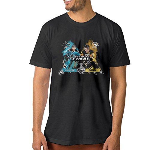 Men's Pittsburgh Penguins Vs. San Jose Sharks 2016 Stanley Cup Bound Fashion Cotton T-Shirts