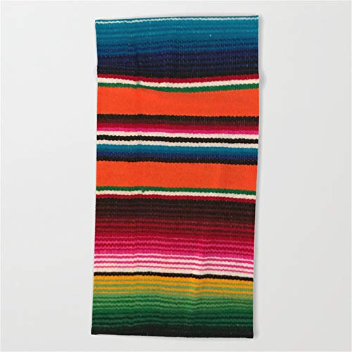 Huisfa Beautiful Mexican Serape Beach Towel 31x51 Inches by Huisfa