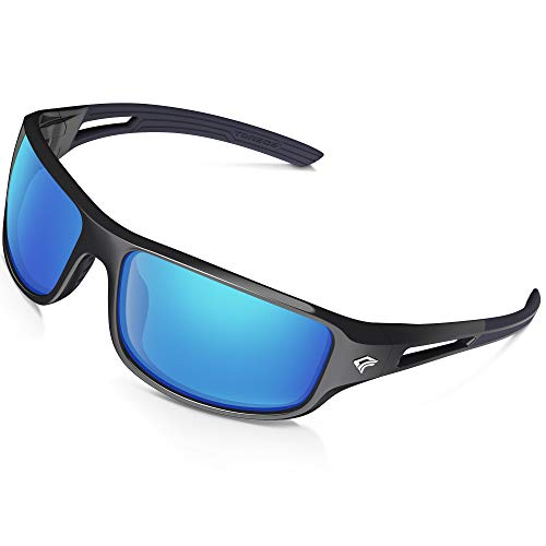 TOREGE Polarized Sports Sunglasses Men Women Cycling Running Driving Fishing Golf Baseball Glasses GRILAMID TR90 Unbreakable Frame TR03 – DiZiSports Store