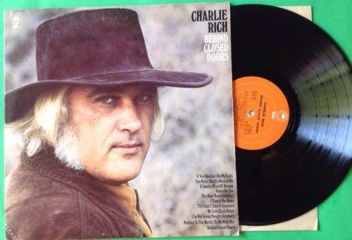 CHARLIE RICH Behind Closed Doors LP Vinyl VG Cover VG+ 1973 KE 32247 (Vg Vinyl Door)