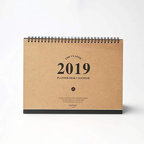 2019 Calendarios multifunción Planificador semanal Agenda mensual Organizador Calendarios de Escritorio Programar Calendario...