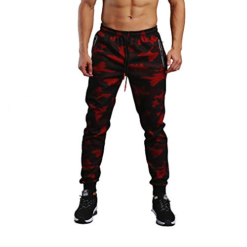 Men's Pants, KpopBaby Camouflage Pocket Overalls Casual Pocket Sport Work Casual Trouser