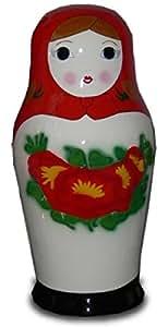 Muñecas Rusas Rojo Medio Ampliar 130cm para exterior de fibra de vidrio de alta calidad de plástico (GFK)