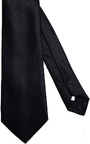 Valentino Black Men's 100% Silk Neck Tie