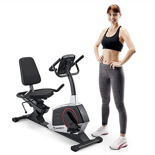 Marcy ME-706 Regenerating Magnetic Recumbent Bike (Gym Recumbent)