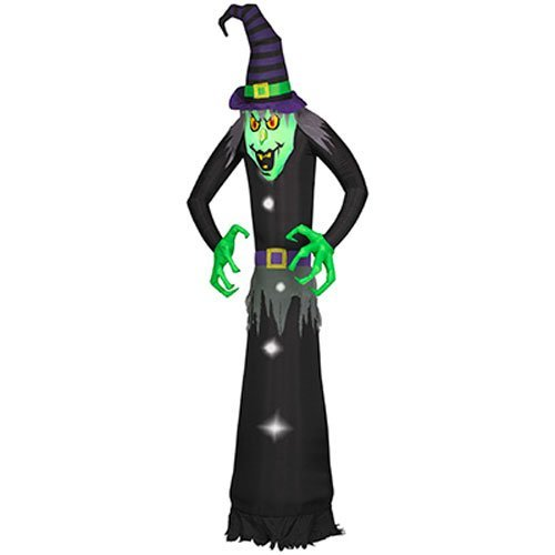 8 Foot Halloween Inflatable Airblown Witch Ghost Decoration for Home Yard Garden Indoor and Outdoor Decor