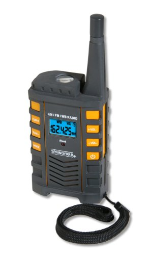 Taylor NOAA 7 Channel Portable Radio and Flashlight by Taylor Precision Products