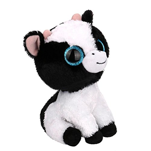 Plush Toys For Kids, Botrong Stuffed Animal Plush Toys Kawaii Big Eyes Cows Small Soft Plush Toys (B)