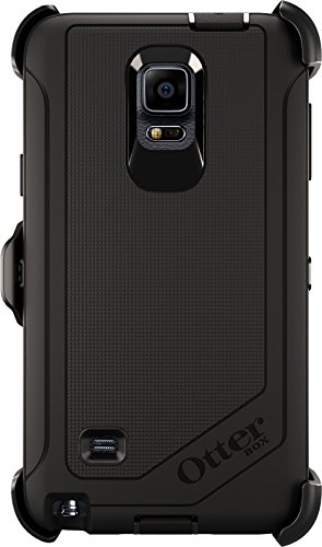 Price comparison product image Otterbox Defender Series Case and Holster for Samsung Galaxy Note 4 - Black (Certified Refurbished)