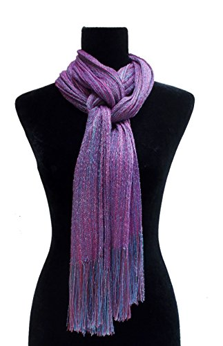 Lavender Pink scarf by Lindy Chinnery Handwoven Designs