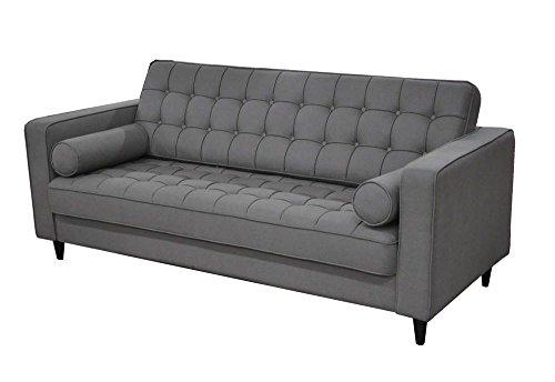 Moe's Home Collection Romano Sofa, Light Gray