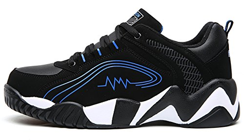 Men Winter Running Shoes Warm Linning Athletic Cross-Trainer Trail Runners Outdoor Training Sports Shoes Blue kKHwjTU