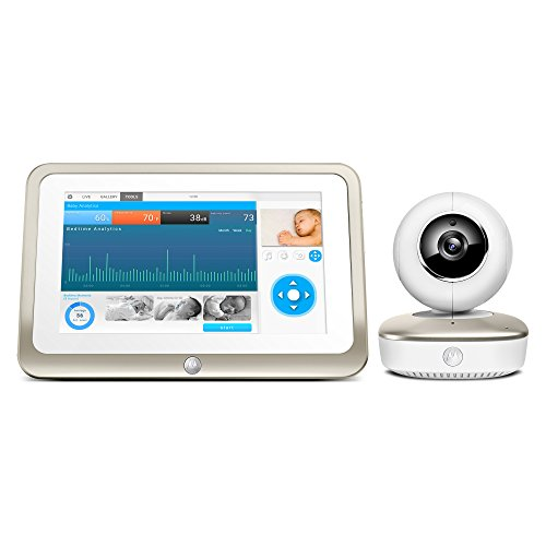 Motorola Smart Nursery 7 Dual Mode Baby Monitor with Camera and 7'' Touch Screen Parent Monitor and Wi-Fi Viewing by Motorola Baby