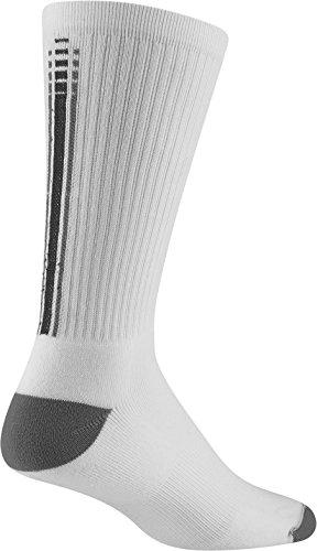 Wigwam Men's Dri-Sport Crew Tech Performance Sock, White, Sock Size:10-13/Shoe Size: 6-12
