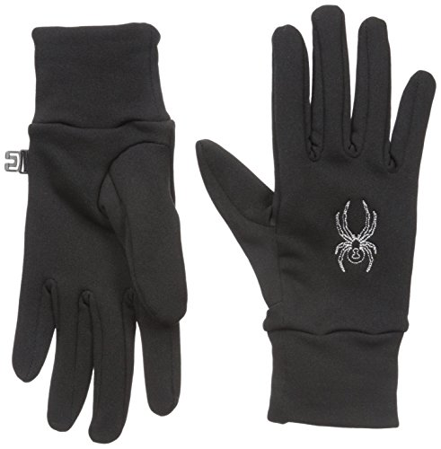Spyder Women's Flex Gloves, Black, X-Small