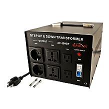 Simran AC-5000 Step Up/Down Voltage Converter Transformer 110V/220V-5000-watt
