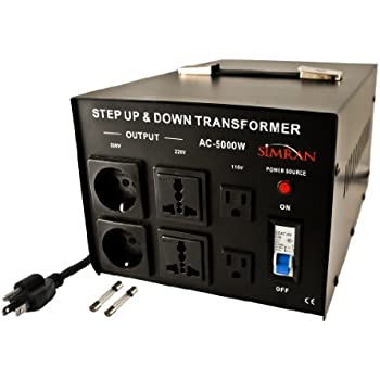 Simran Ac 5000 Power Converter Voltage Transformer 110v To