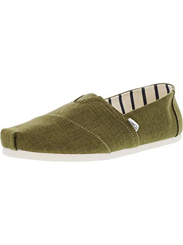 TOMS Men's Venice Collection Alpargata Military Olive Heritage Canvas 12 D US D (M) (High Shoes Canvas)