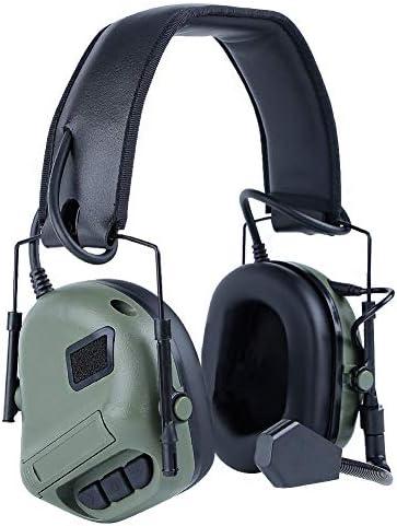 ATAIRSOFT サバゲー タクティカル ヘッドセット 防音機能なし OD Green