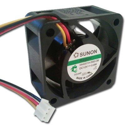 Sunon HA40201V4-VGA 40mm x 20mm GPU/VGA Cooling Fan Mini 3pin speed Sensor Quiet 12dBA