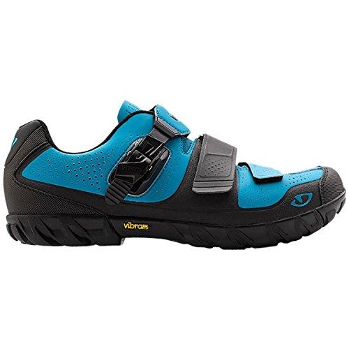 Giro Terraduro MTB Shoes Blue Jewel/Black 42.5 (Best Mtb Shoes 2019)