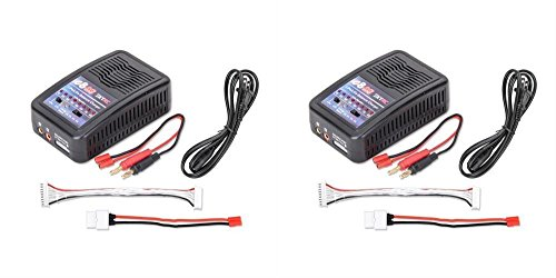2 x Quantity of Walkera Scout X4 FPV Balance LiPo Battery Charger 2S-8S 100W 6amp (US plug)
