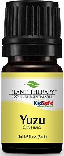 Plant Therapy Yuzu Essential Oil 5 Ml  1 6 Oz  100  Pure  Undiluted  Therapeutic Grade