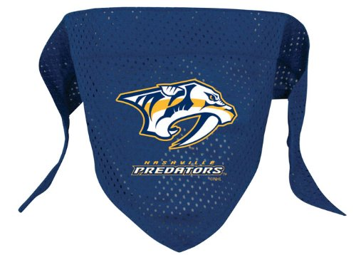 NHL Nashville Predators Pet Bandana, Team Color, Small