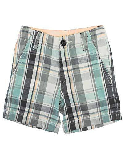 (RuggedButts Baby/Toddler Boys David Plaid Shorts - 18-24m )