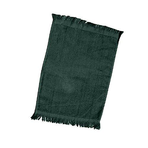 ((12 Pack) Set of 12- Promotional Priced Fingertip Towels (Forest Green))