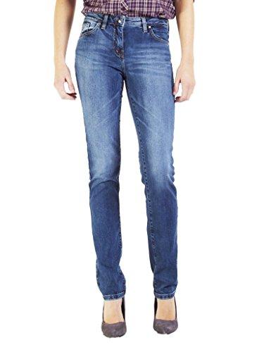 Elasticizzato Modello Donna 715 Vestibilità Normale Chiaro Jeans Sigaretta Vita Denim Blu super Per A Look Lavaggio 752c0970a Tessuto Wash Stone Regular Carrera IxvwPZn
