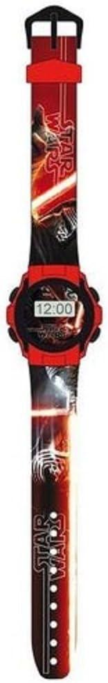 Star Wars Reloj proyector, Reloj Digital para Niños, con Licencia ...