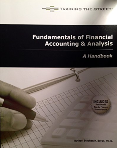 Fundamentals of Financial Accounting & Analysis – A Handbook