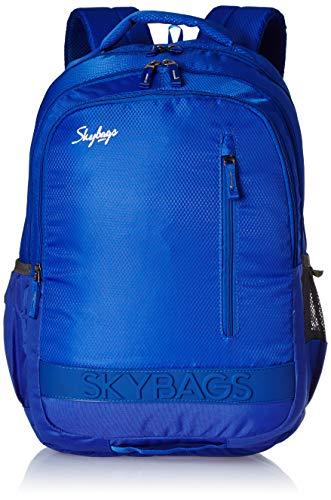 Skybags Bingo Extra 02 32 Ltrs Blue Casual Backpack (Bingo Extra 02)