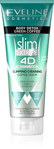 Eveline Cosmetics Slim Extreme 4D Body Detox Professional Intensely Slimming and Draining Coffee Serum (Detox Serum)
