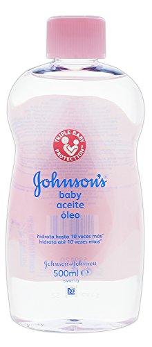 4 x Johnsons & Johnsons Baby Öl - die ideale Pflege für trockene Haut - für Sie und Ihr Baby/ je 500ml/ Babyöl