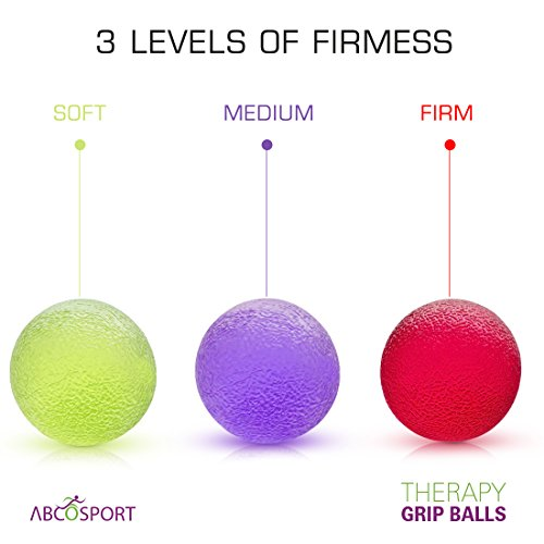 Therapy Grip Balls Strengthen Strengthening