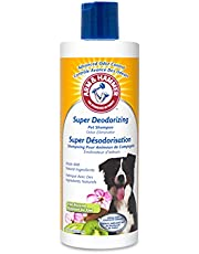 Arm & Hammer Super Deodorizing Shampoo in Kiwi Blossom, Best Odor Eliminating Shampoo for All Dogs and Puppies, 16 oz
