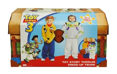 Toy Story Woody Costumes 2t (TOY STORY 3 TODDLER DRESS-UP TRUNK [Toy])