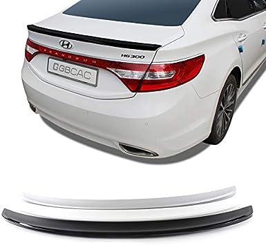 LIGHTKOREA Gubin Rear Wing ABS Spoiler 4 Color for Hyundai Azera 2012 2016 Phantom Black