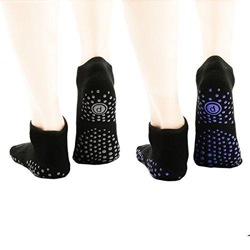 dadef6c05 Women s Yoga Socks Non Slip Skid Ankle Toe Socks for Pure Barre Series  Pilates Dance Sport
