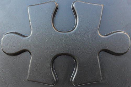 Set 2 Puzzl Plastic Molds for 3 D Panels Plaster wall stone Form 3D decor panels