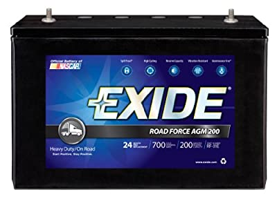 Exide RF-31E ROADFORCE AGM-200 Sealed Maintenance-Free (AGM) Heavy-Duty/Commercial Battery