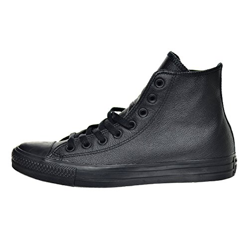 Converse Unisex All Star Leather Hi Sneaker Nero Mono