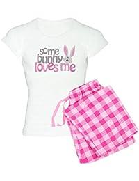 2df3e538fd38 Some Bunny Loves Me Women s Light Pajamas - Womens Novelty Cotton Pajama Set